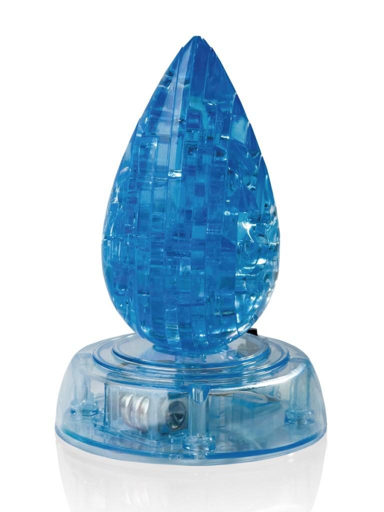 3D-пазл DIY House Магический кристалл Капля со светом 9010A