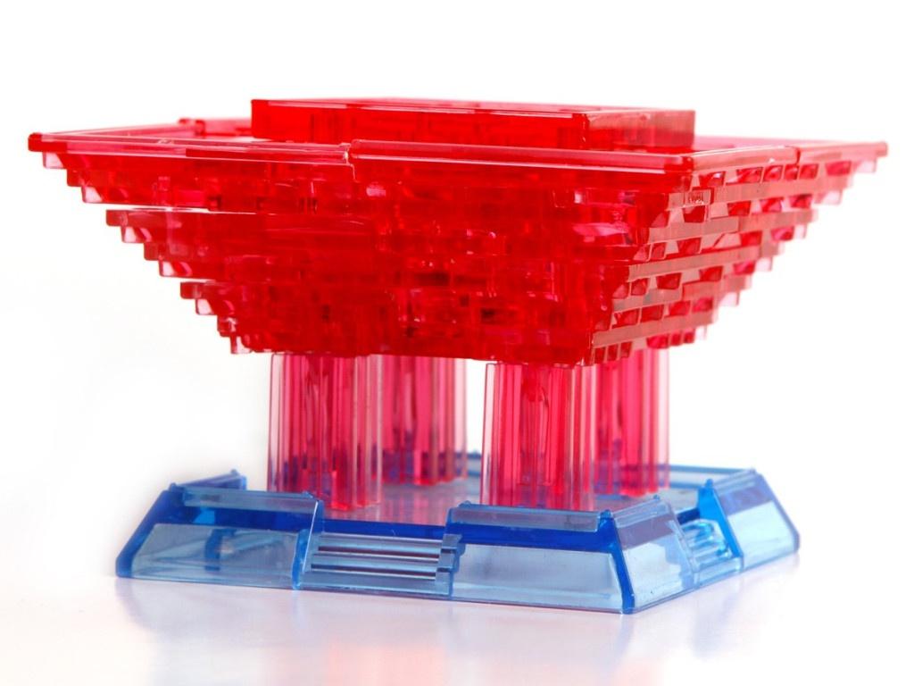 3D-пазл DIY House Магический кристалл Китайский павильон со светом 29012A