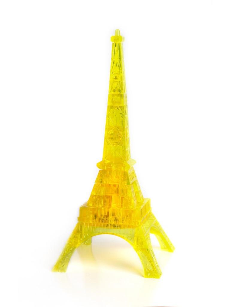 3D-пазл DIY House Магический кристалл Эфелева башня со светом 29017A