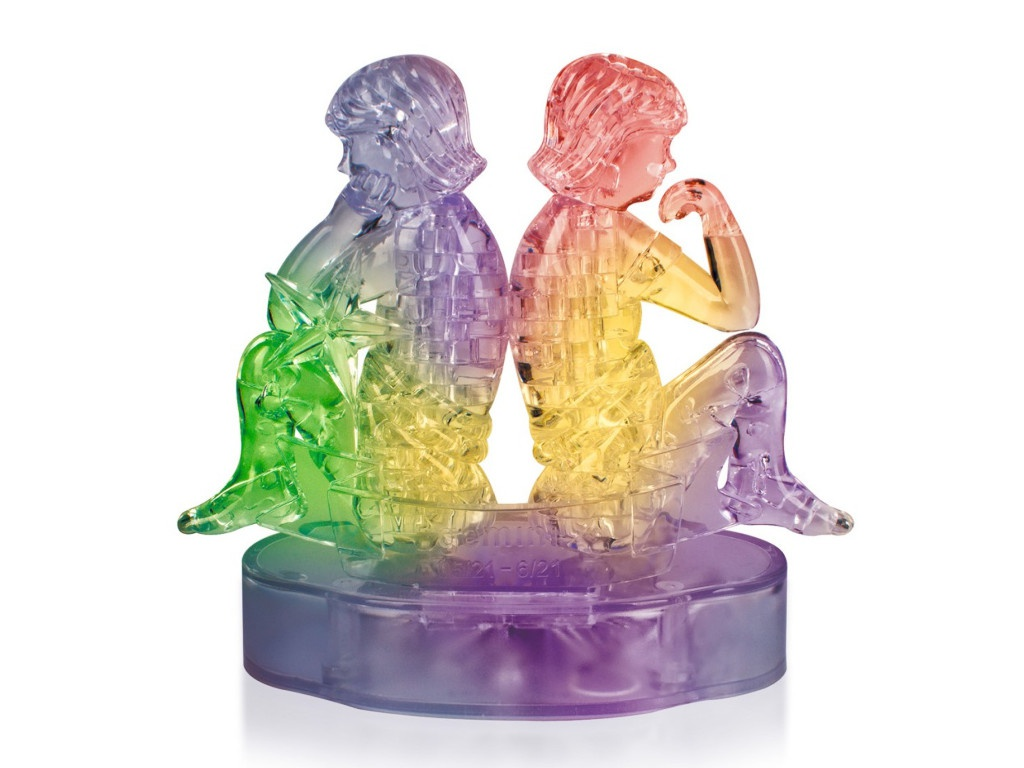 3D-пазл DIY House Магический кристалл Близнецы со светом 9050A