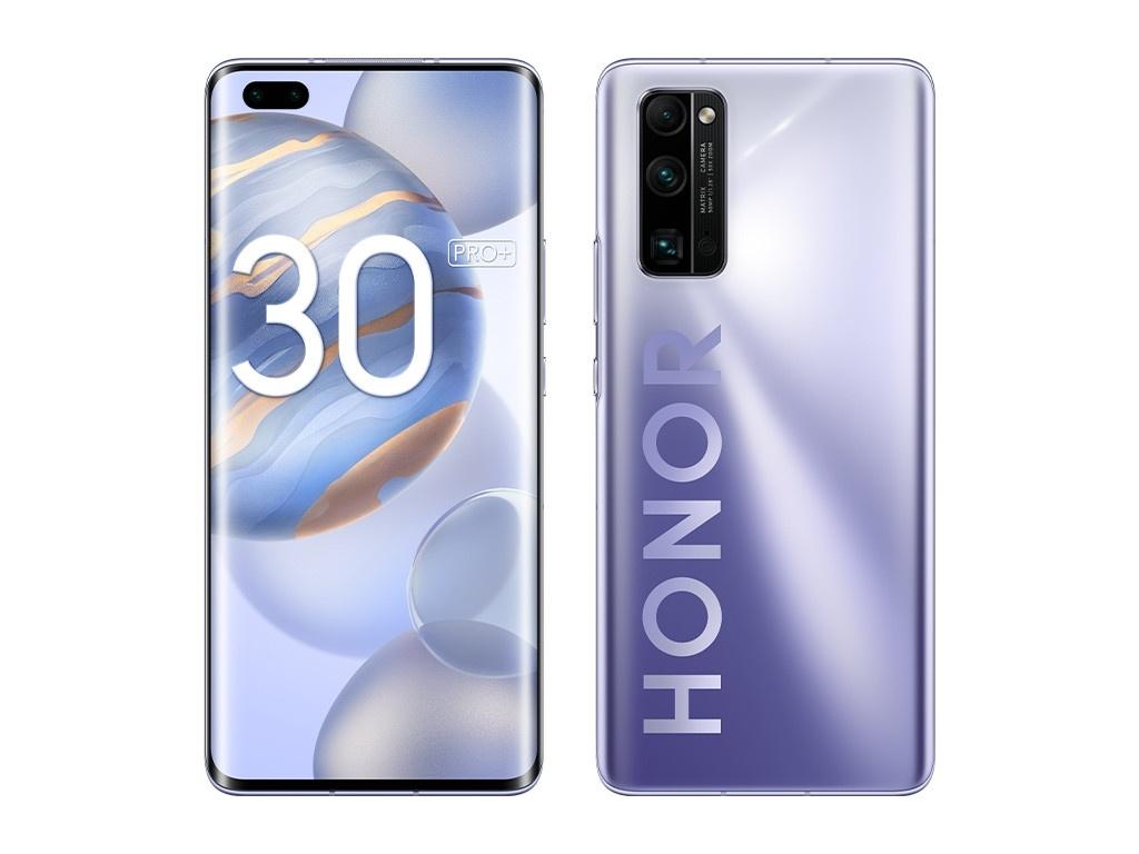 Сотовый телефон Honor 30 Pro+ 8/256GB Titanium Silver