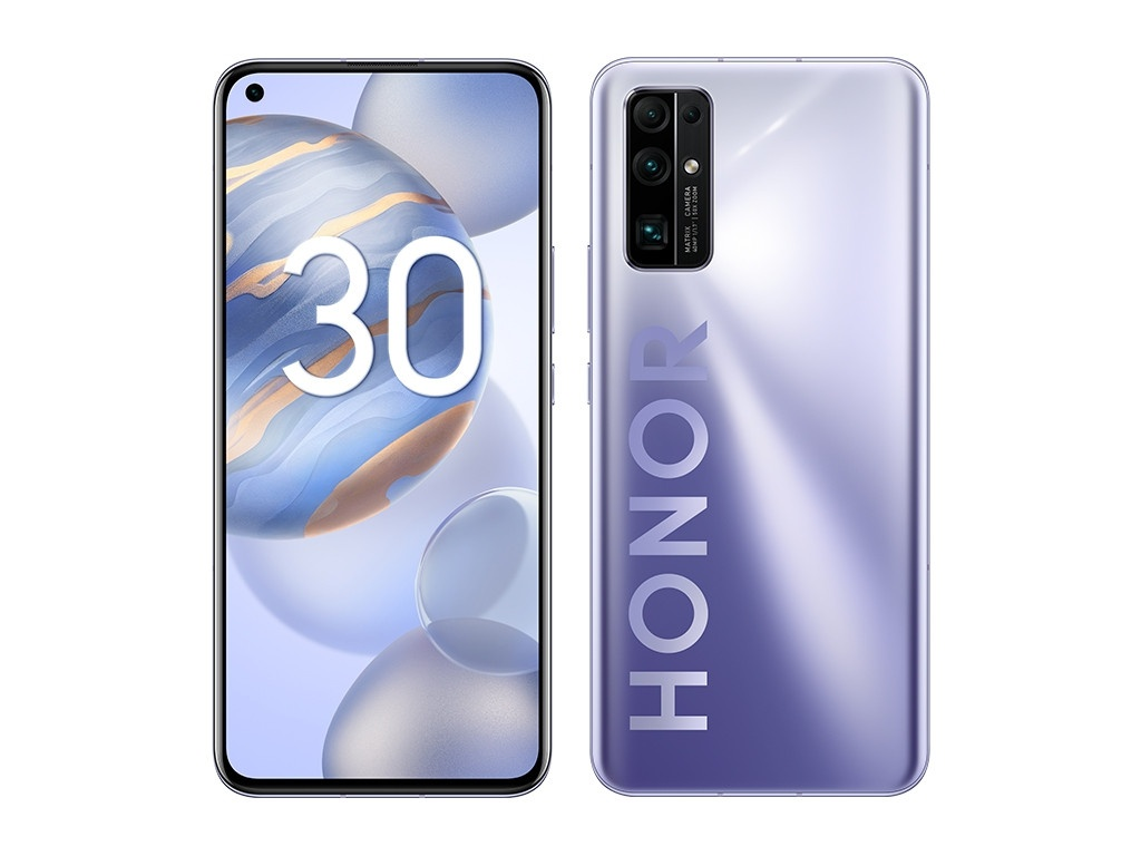 Сотовый телефон HONOR 30 8/256GB Silver