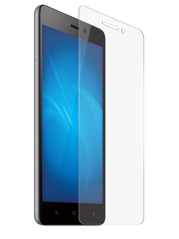 Гибридное защитное стекло Krutoff для Xiaomi Redmi 3 22645 аксессуар защитное стекло для xiaomi mi5 krutoff 0 26mm 02213