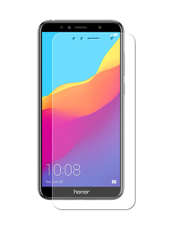 Гибридное защитное стекло Krutoff для Huawei Y5 Prime 2018 /Y5 lite / Honor 7A/ 7S 22342