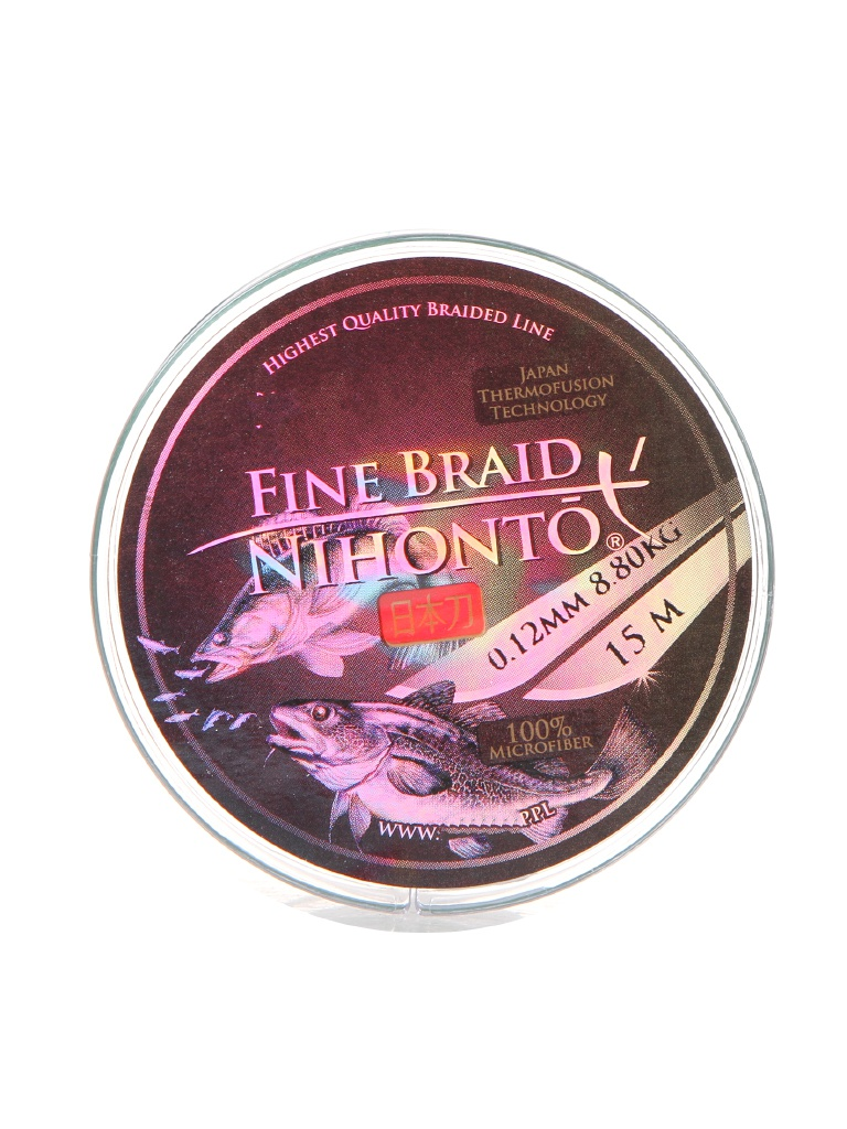 Леска Mikado Nihonto Fine Braid 0.12mm 15m Green Z21G-012
