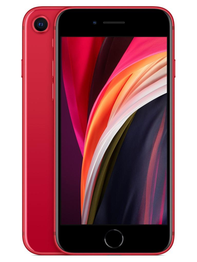 Сотовый телефон APPLE iPhone SE (2020) - 128Gb Red MXD22RU/A Выгодный набор + серт. 200Р!!!