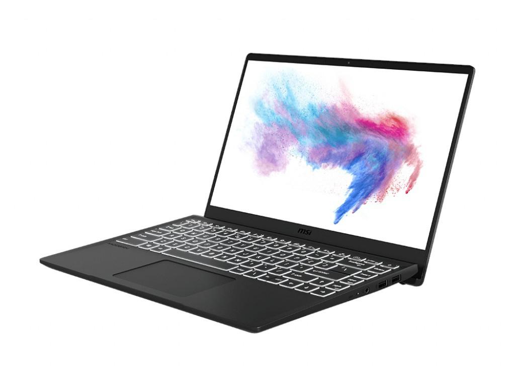 Ноутбук MSI Modern 14 B10RASW-021RU 9S7-14D111-021 (Intel Core i5-10210U 1.6GHz/8192Mb/512Gb SSD/No ODD/nVidia GeForce MX330 2048Mb/Wi-Fi/Bluetooth/14.0/1920x1080/Windows 10 64-bit)