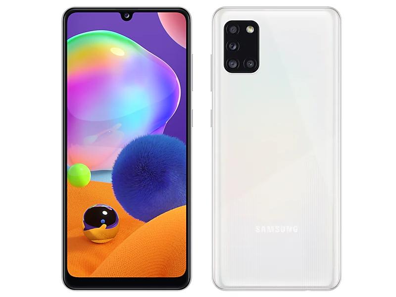 Сотовый телефон Samsung SM-A315F Galaxy A31 4Gb/128Gb White Выгодный набор + серт. 200Р!!! сотовый телефон samsung sm a315f galaxy a31 4gb 64gb white выгодный набор серт 200р