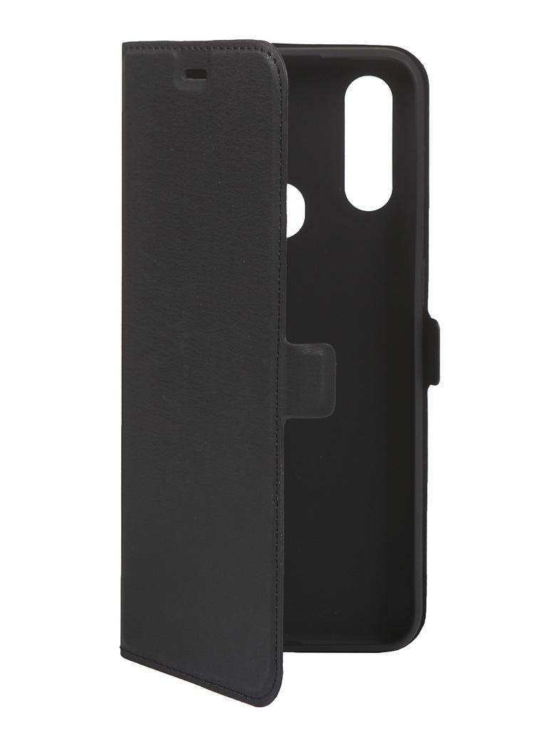 Чехол DF для Oppo A31 Black oFlip-07