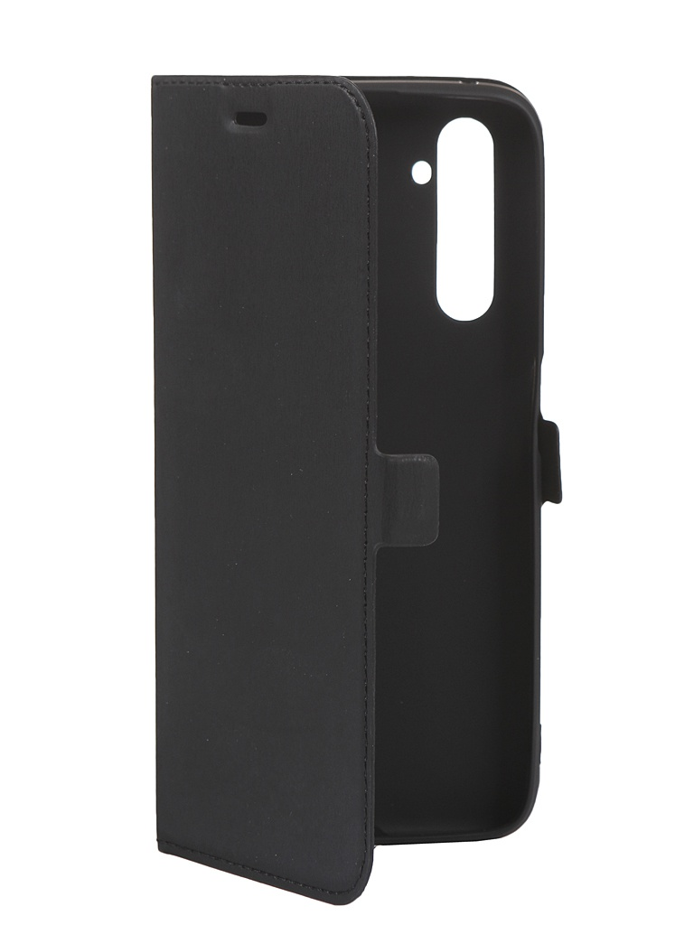 Чехол DF для Realme 6 Pro Black rmFlip-08