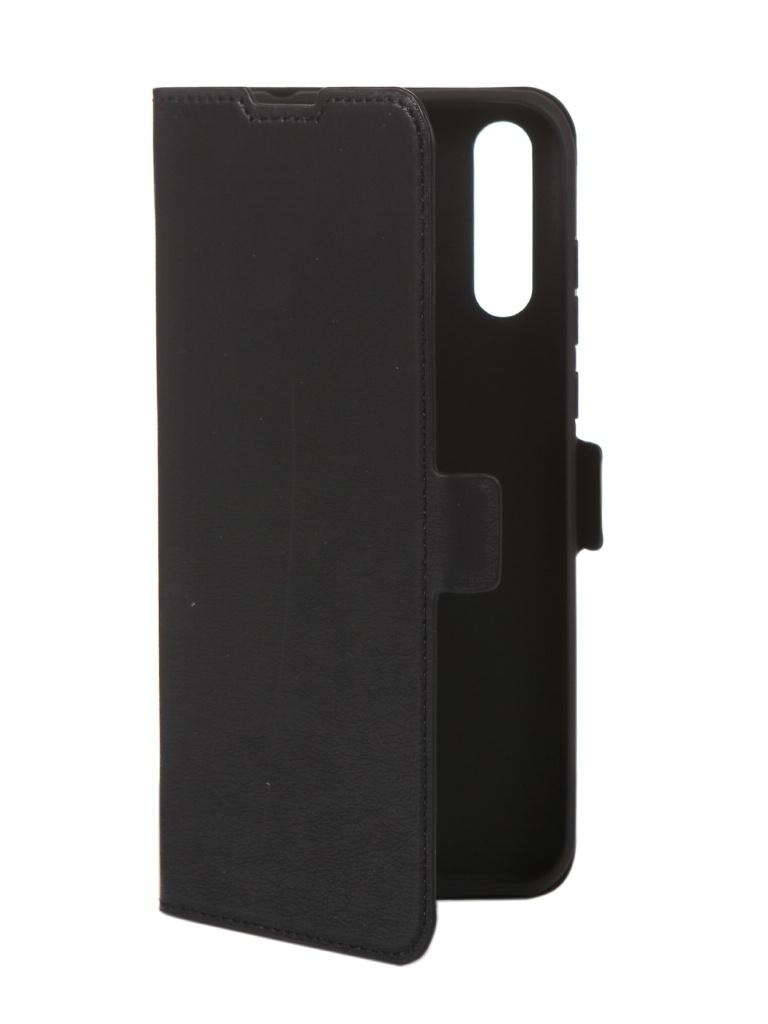 Чехол DF для Huawei Y8p Black hwFlip-87