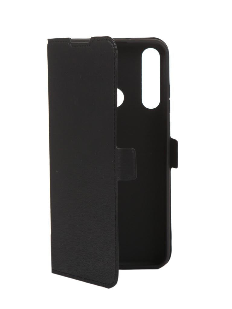 Чехол DF для Huawei Y6p Black hwFlip-86