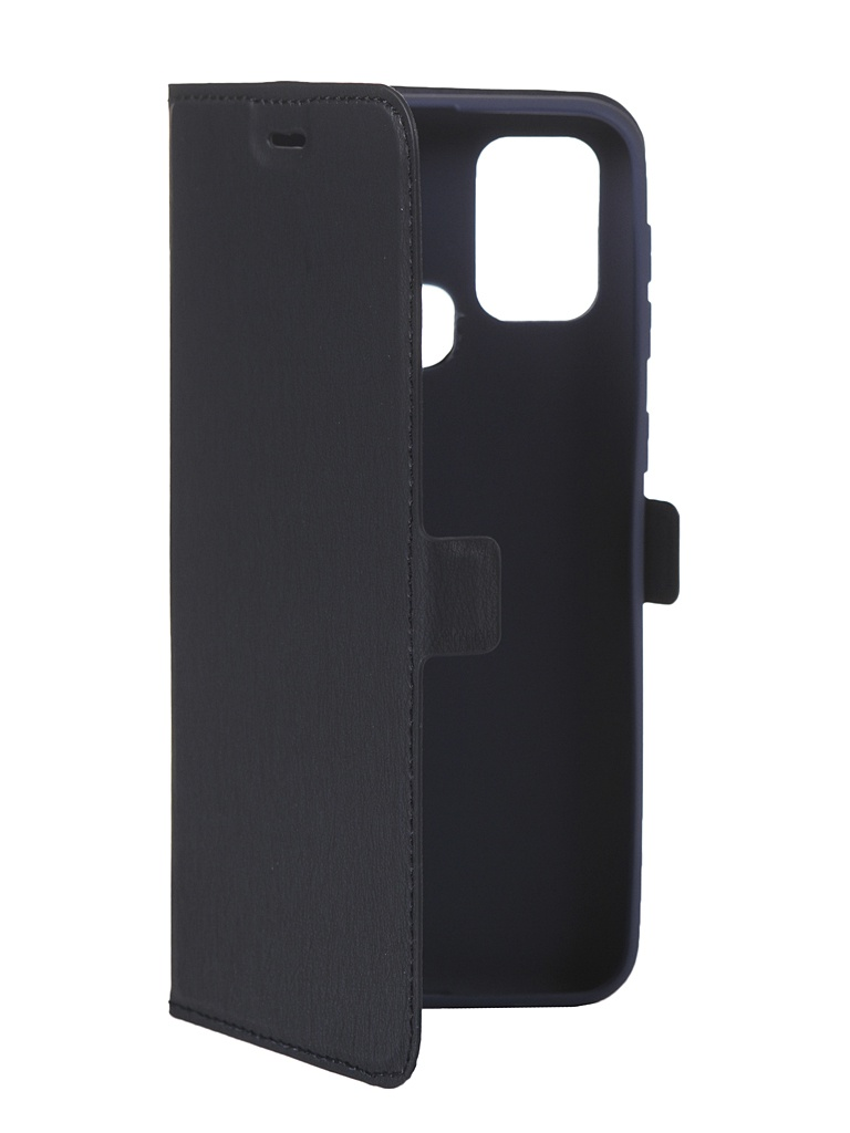Чехол DF для Samsung Galaxy M31 Blue sFlip-69 недорого
