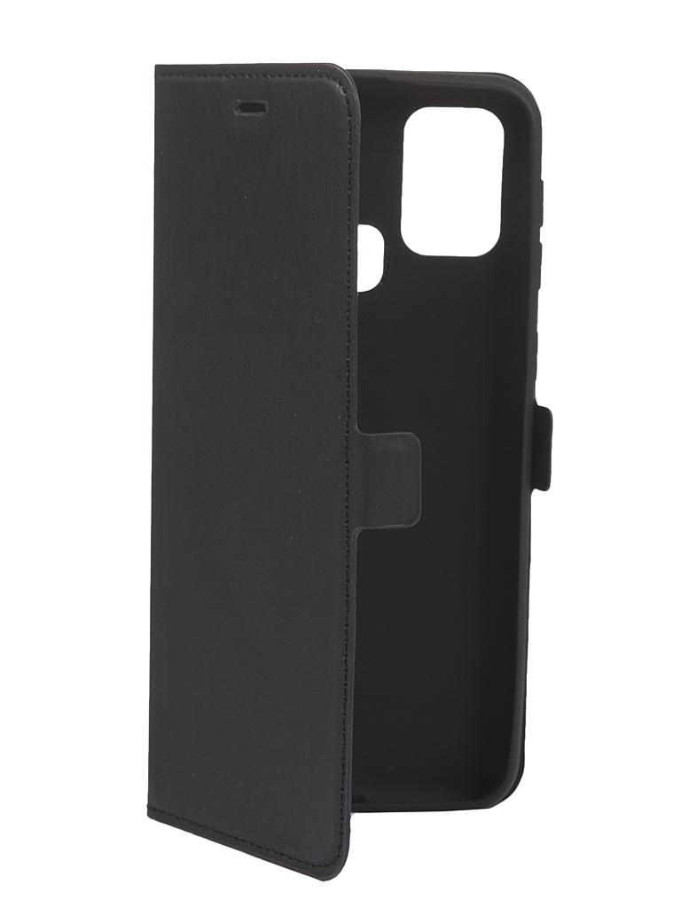 Чехол DF для Samsung Galaxy M31 Black sFlip-69