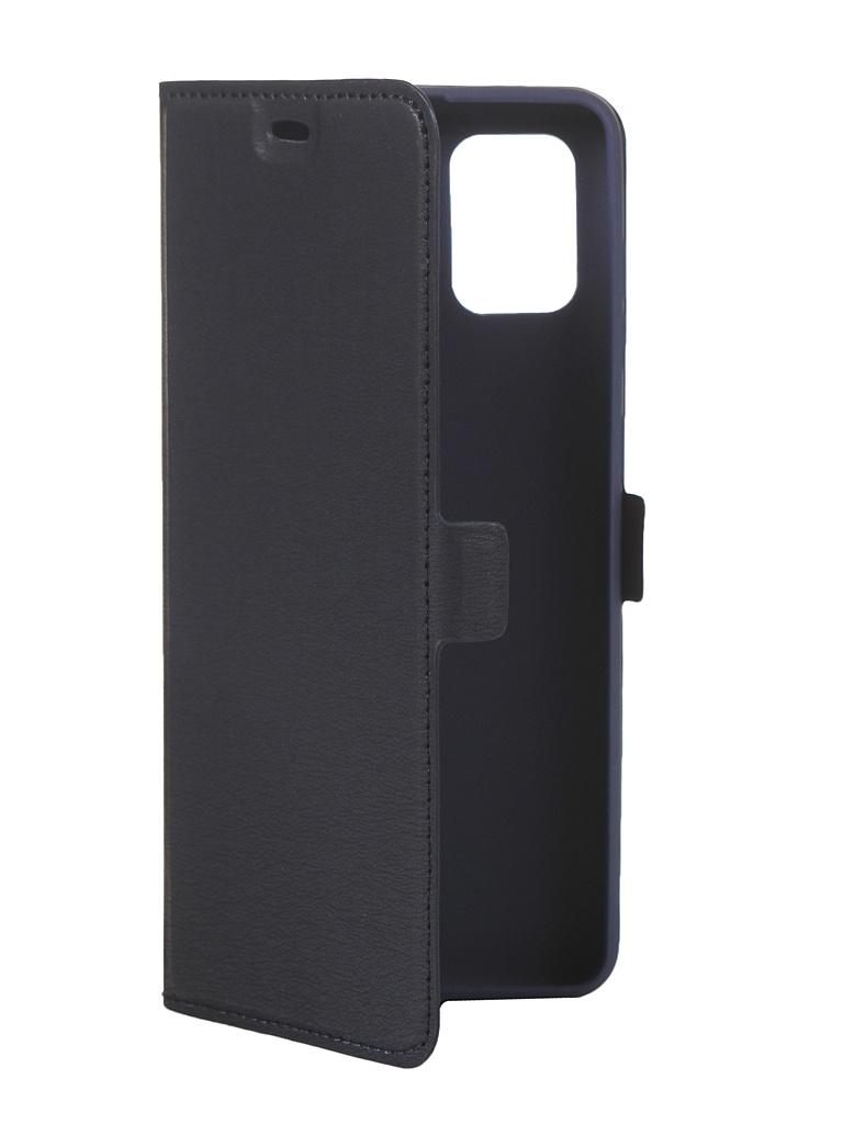 Чехол DF для Samsung Galaxy A31 Blue sFlip-67