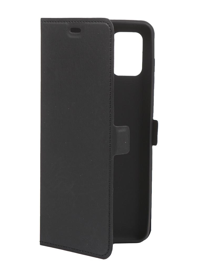 Чехол DF для Samsung Galaxy A31 Black sFlip-67