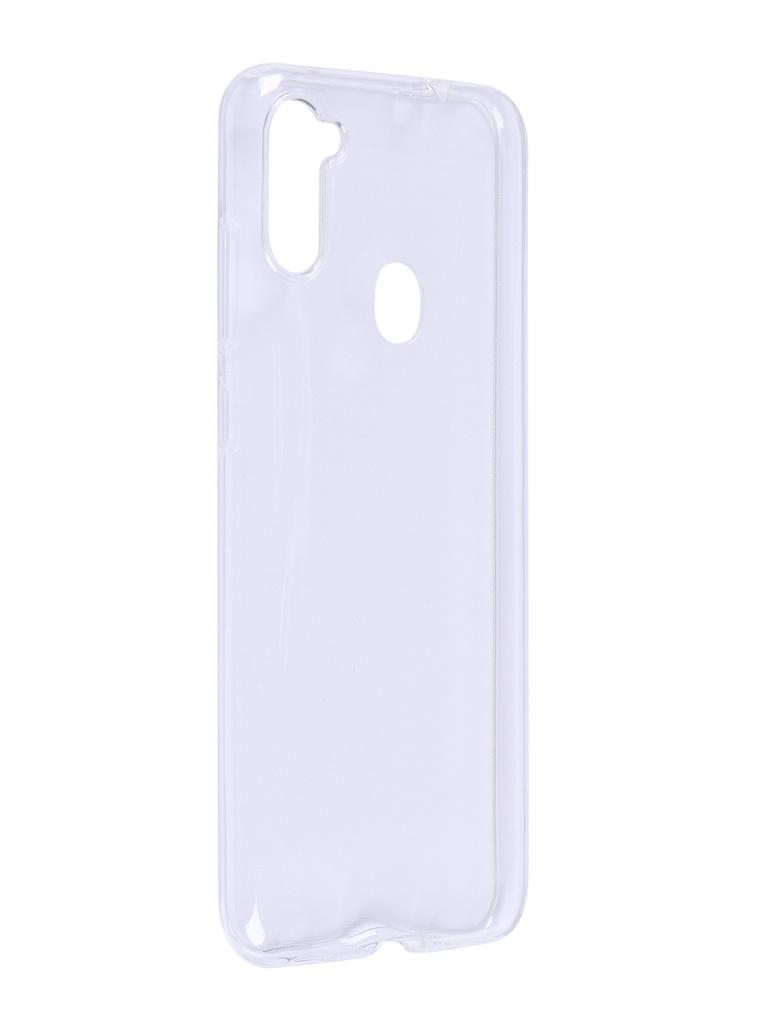 Чехол DF для Samsung Galaxy A11 (EU) Silicone Super Slim sCase-98