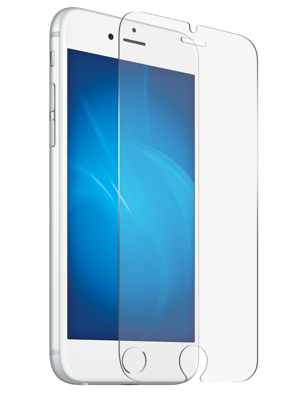 Закаленное стекло DF для APPLE iPhone 7/8 iSteel-18