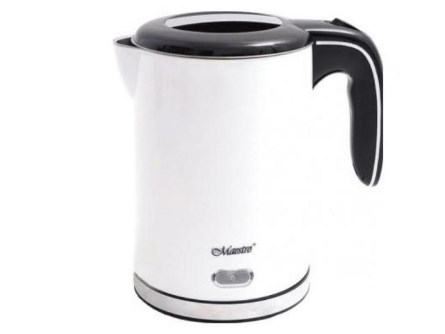 Чайник Maestro MR-030 White чайник maestro rainbow mr 1301 серебристый черный 3 5 л