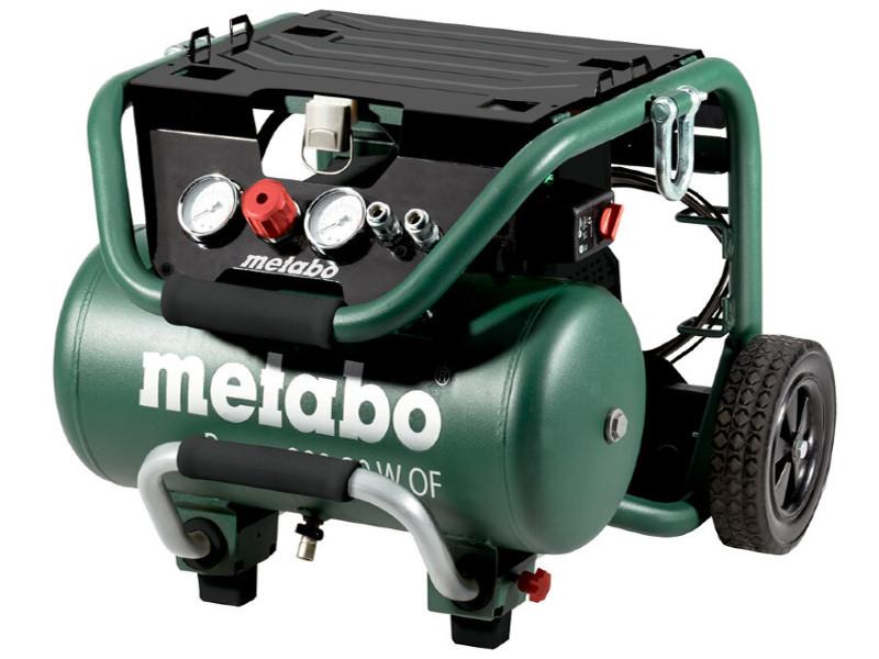 Компрессор Metabo Power280-20WOFКомпрессор безм.1,8кВт,20л,280/м