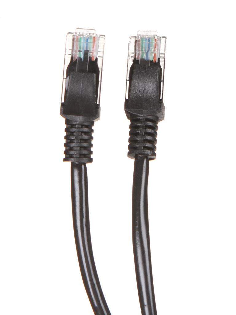 Сетевой кабель KS-is UTP cat.5e RJ45 3.0m Black KS-386-3