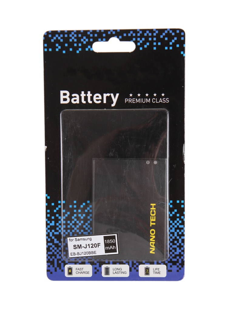Nano Tech (схожий с EB-BJ120BBE) 1850mAh для Samsung SM-J120F Galaxy J1