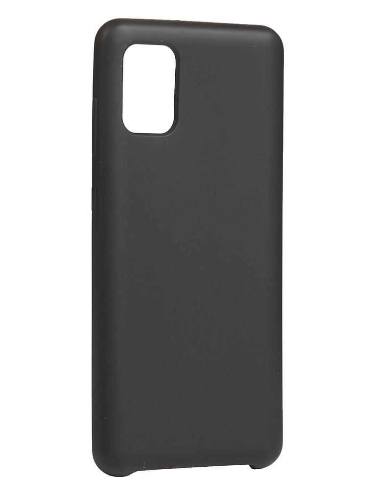 Чехол Innovation для Samsung Galaxy A31 Silicone Cover Black 17088