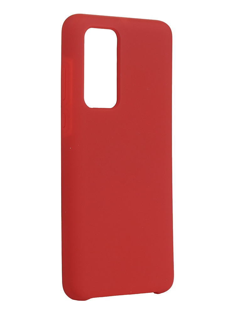 Чехол Innovation для Huawei P40 Silicone Cover Red 17094