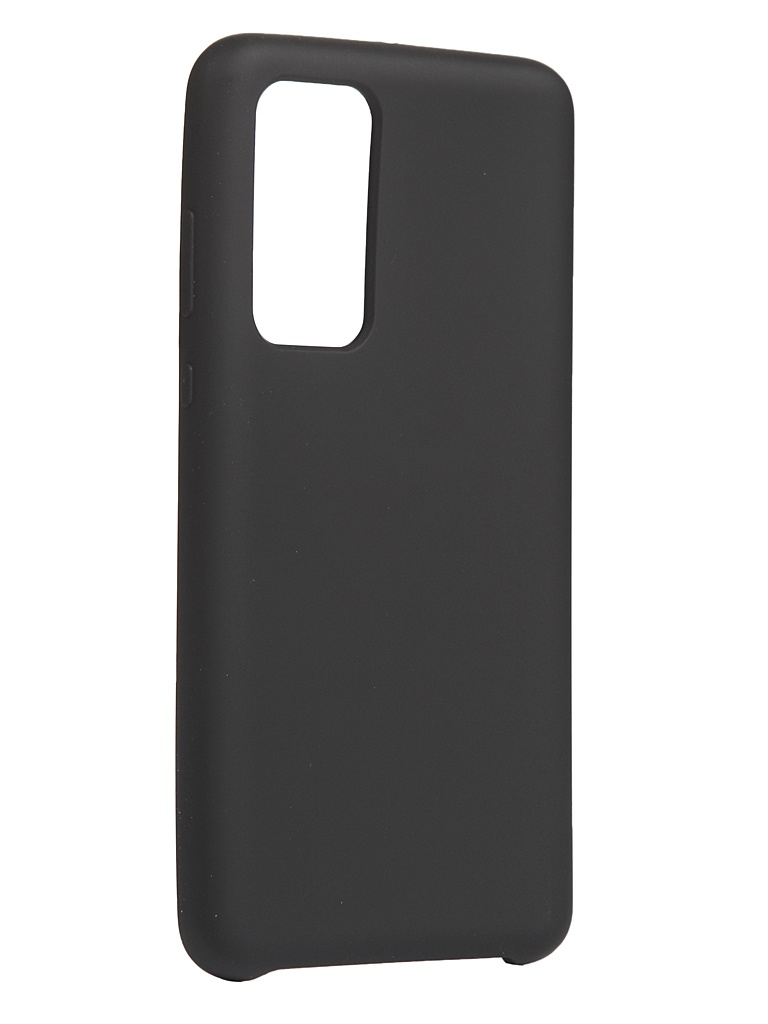 Чехол Innovation для Huawei P40 Silicone Cover Black 17095