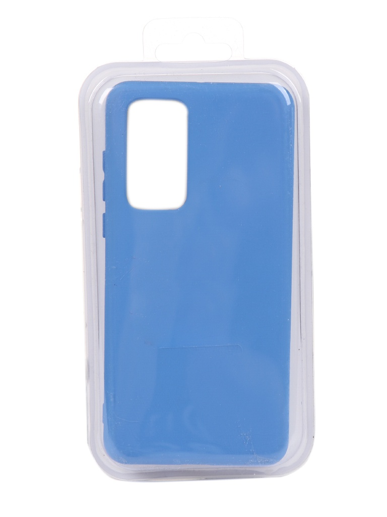 Чехол Innovation для Huawei P40 Silicone Cover Blue 17096
