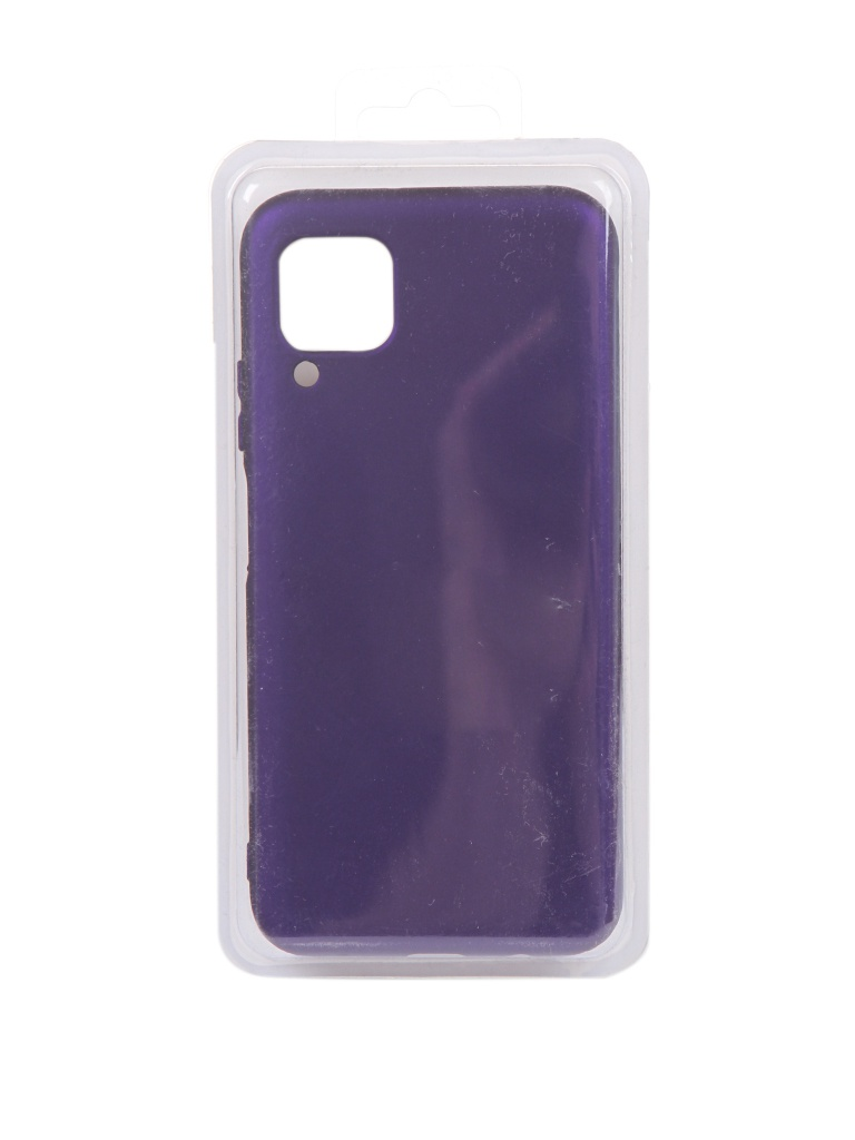 Чехол Innovation для Huawei P40 Lite Silicone Cover Purple 17098