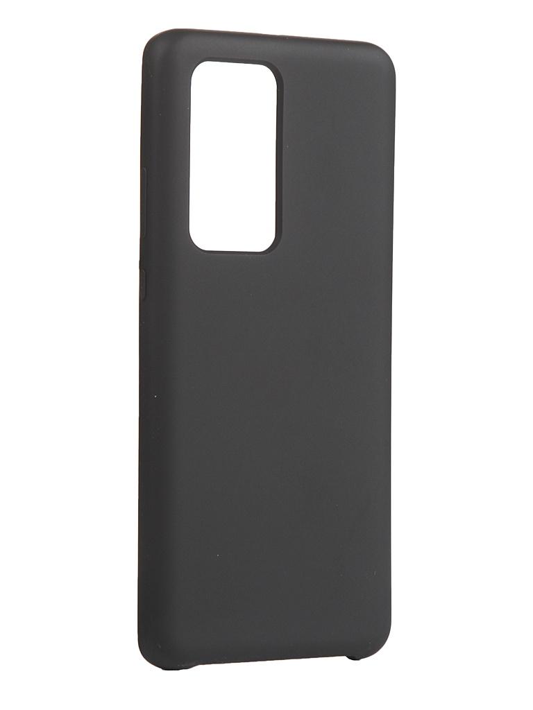 Чехол Innovation для Huawei P40 Pro/P40 Pro Plus Silicone Cover Black 17106