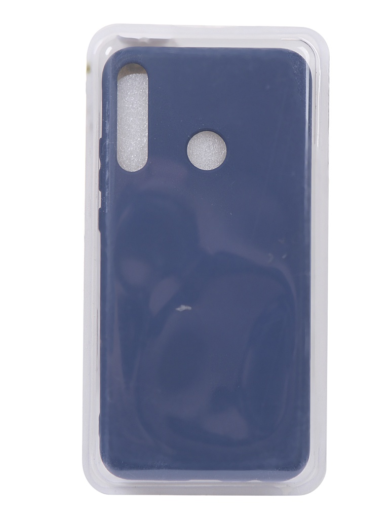 Чехол Innovation для Huawei P40 Lite E Silicone Cover Blue 17112