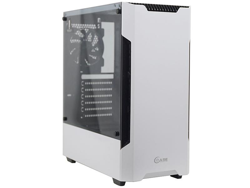 Корпус Powercase Alisio X3 ATX Tempered Glass White CAXW-F3
