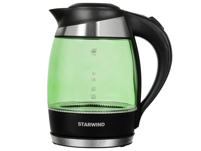 Чайник Starwind SKG2213 Green-Black