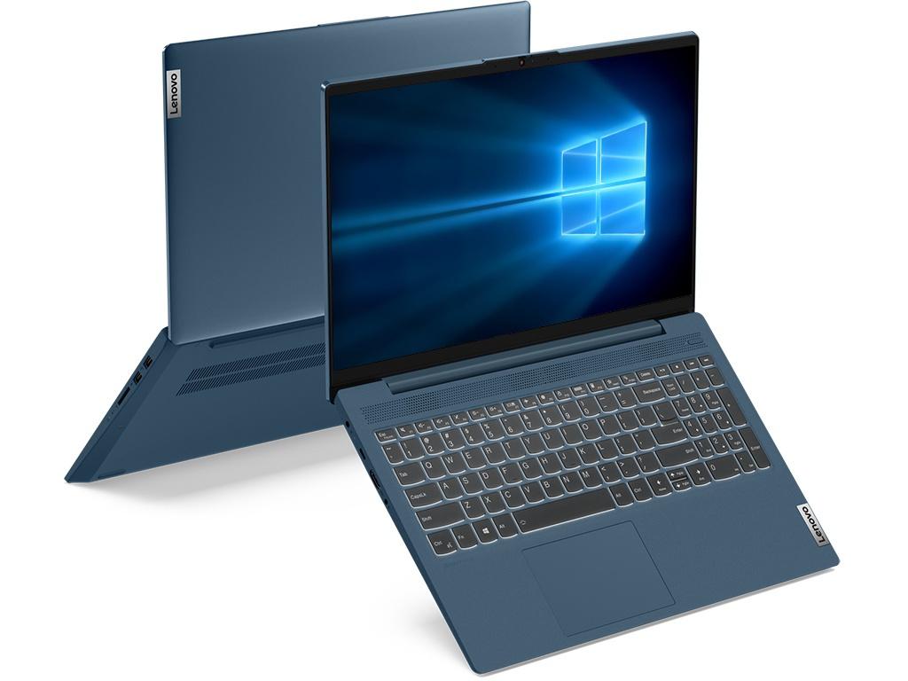 Ноутбук Lenovo IdeaPad IP5 Light Teal 15IIL05 81YK001ERU (Intel Core i3-1005G1 1.2GHz/8192Mb/256Gb SSD/No ODD/Intel HD Graphics/Wi-Fi/15.6/1920x1080/Windows 10 64-bit) ноутбук hp 15 dw0005ur intel core i3 8145u 2100 mhz 15 6 1366x768 8gb 256gb ssd no dvd intel uhd graphics 620 wi fi bluetooth windows 10