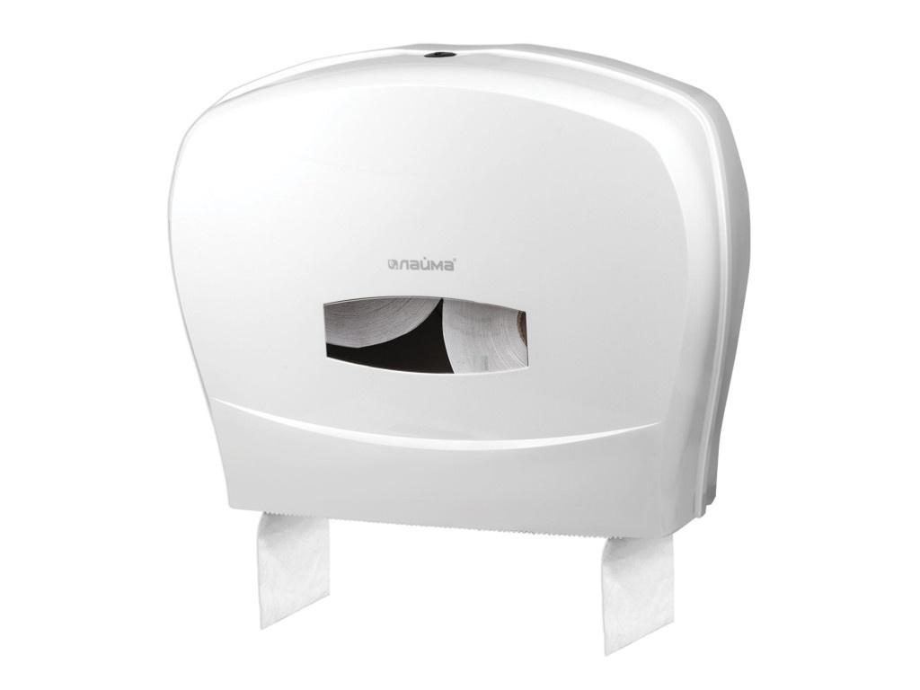 Диспенсер Лайма Professional для туалетной бумаги White 601428
