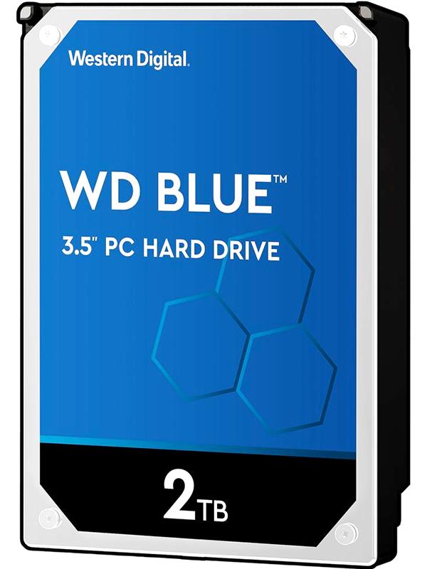 Жесткий диск Western Digital Blue 2Tb WD20EZAZ Выгодный набор + серт. 200Р!!!