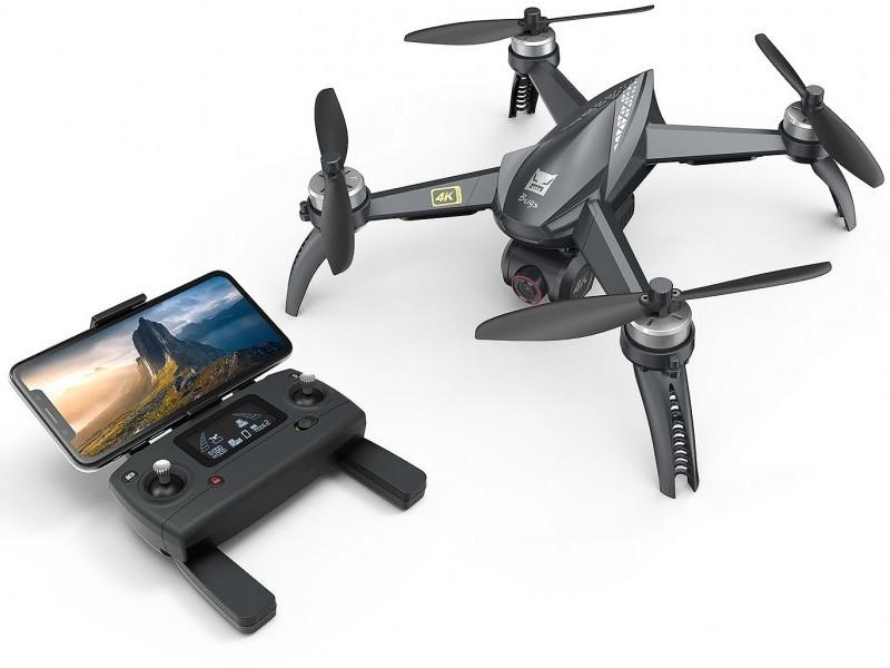 Квадрокоптер MJX Bugs 5W RTF + камера 4K Black квадрокоптер mjx bugs 5w rtf 2 4g