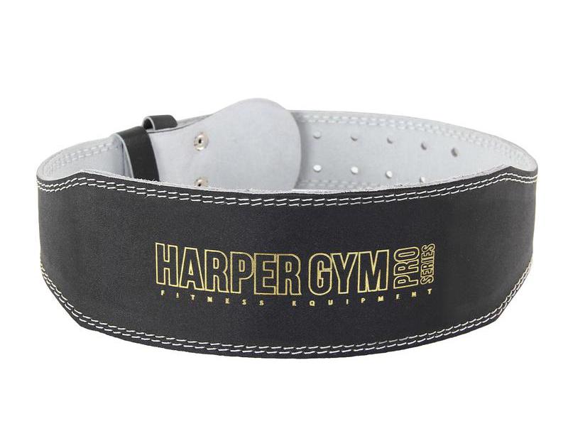 Пояс Harper Gym Jabb JE-2623 узкий Leather S Black 311062