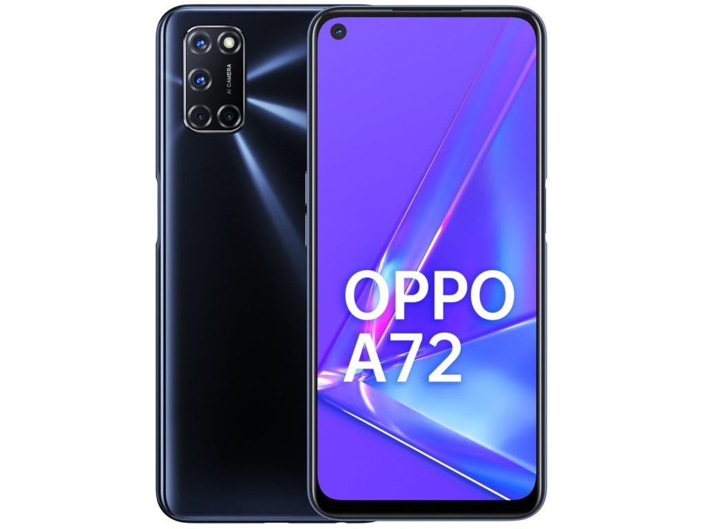 Сотовый телефон OPPO A72 4/128Gb Black сотовый