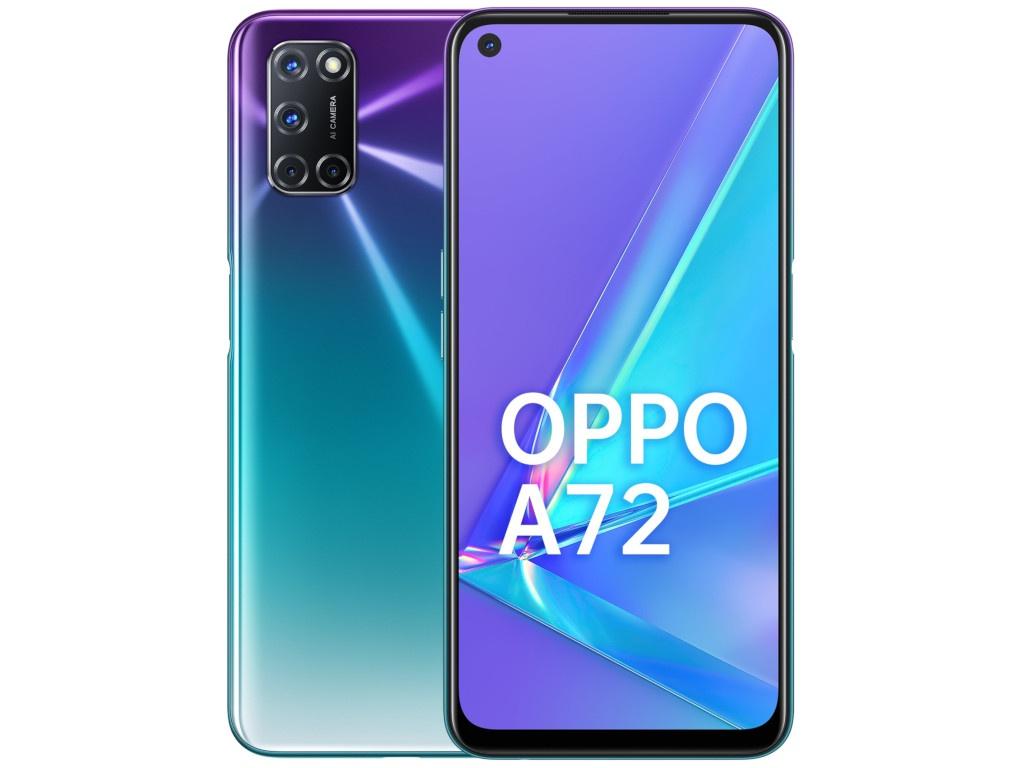 Сотовый телефон Oppo A72 4/128Gb Purple