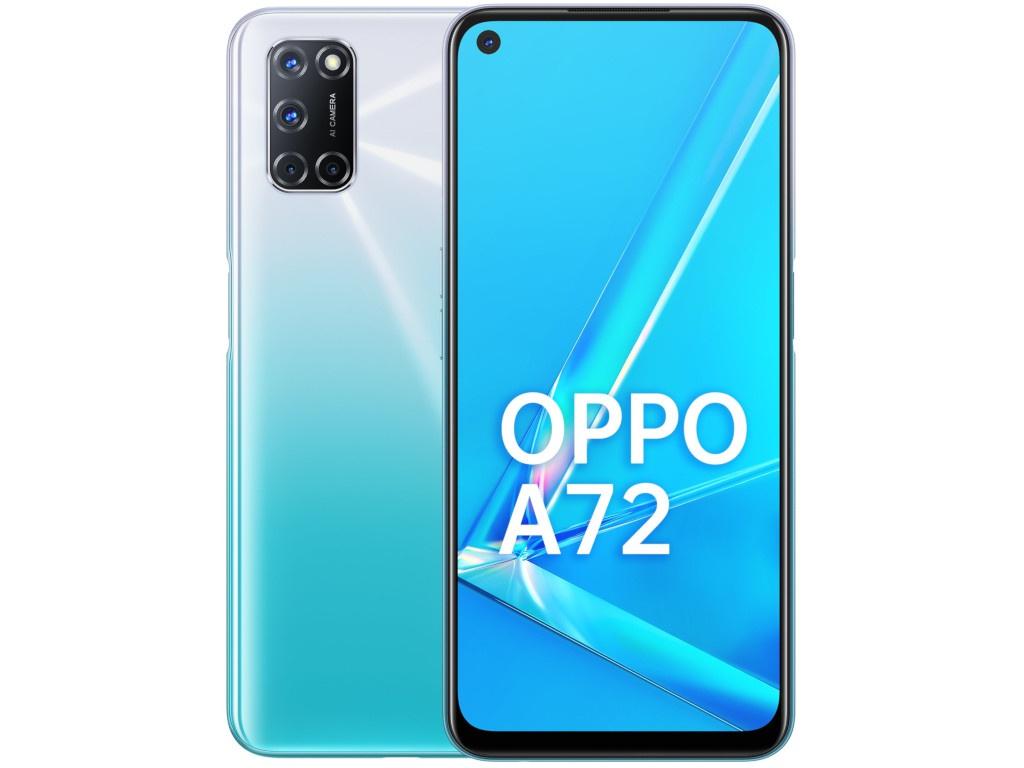 Сотовый телефон OPPO A72 128GB White
