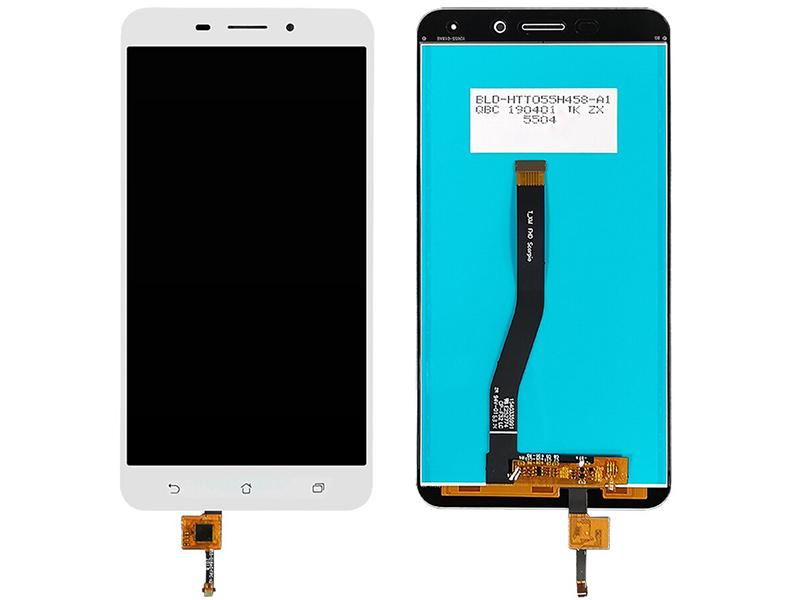 Дисплей RocknParts для ASUS ZenFone 3 Laser ZC551KL в сборе с тачскрином White 745570 дисплей rocknparts для apple iphone 7 в сборе с тачскрином refurbished white 629379