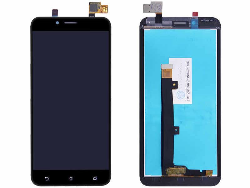 Дисплей RocknParts для ASUS ZenFone 3 Max ZC553KL в сборе с тачскрином Black 745603 дисплей rocknparts для asus zenfone 3 ze552kl в сборе с тачскрином white 745568