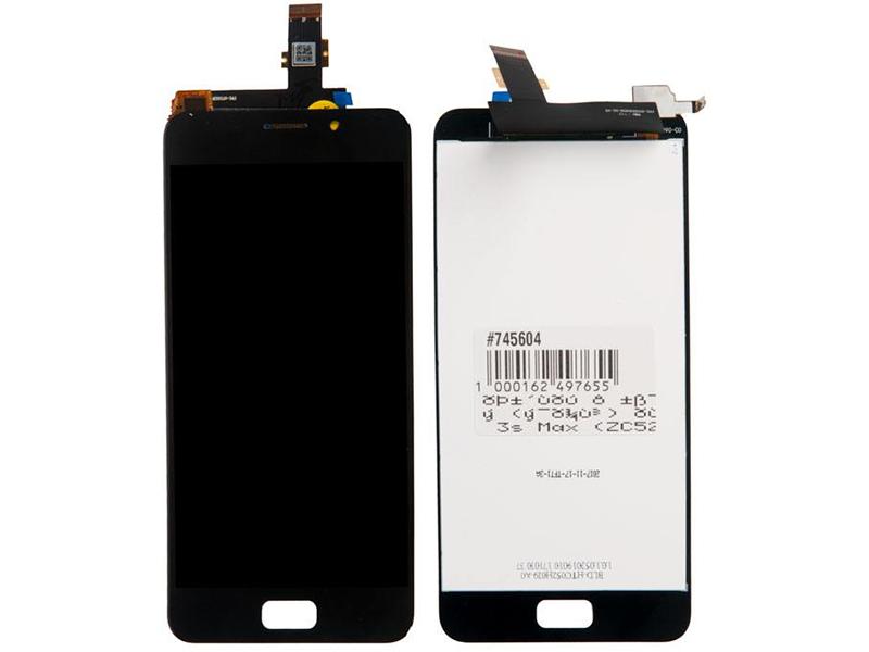 Дисплей RocknParts для ASUS ZenFone 3s Max ZC521TL в сборе с тачскрином Black 745604