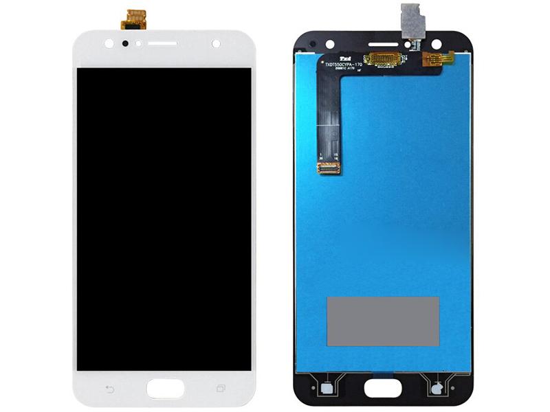 Дисплей RocknParts для ASUS ZenFone 4 Selfie ZD553KL в сборе с тачскрином White 745579