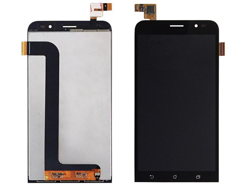 Дисплей RocknParts для ASUS ZenFone Go ZB552KL в сборе с тачскрином Black 745588