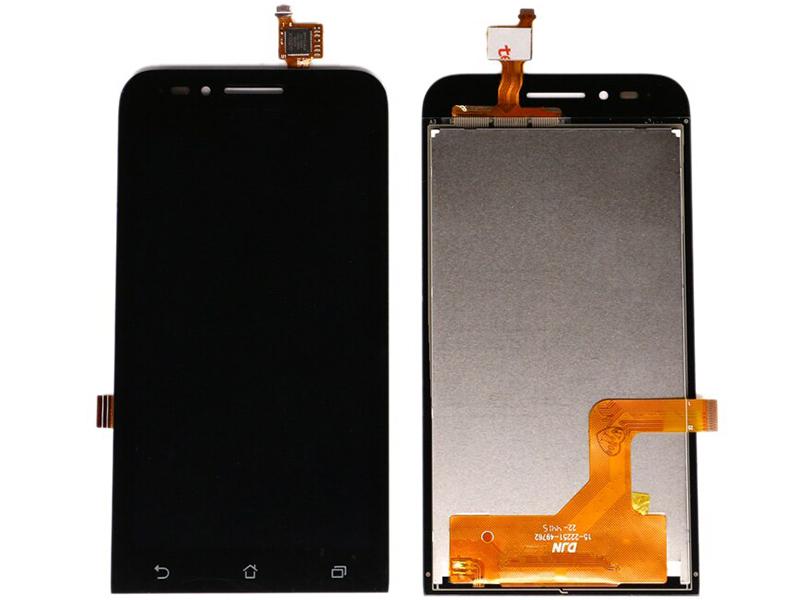 Дисплей RocknParts для ASUS ZenFone Go ZC451TG в сборе с тачскрином Black 745590