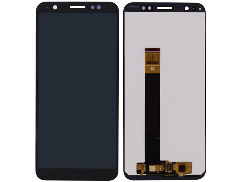 Дисплей RocknParts для ASUS ZenFone Lite L1 ZA551KL в сборе с тачскрином Black 745592 дисплей rocknparts для asus zenfone 3 ze552kl в сборе с тачскрином white 745568